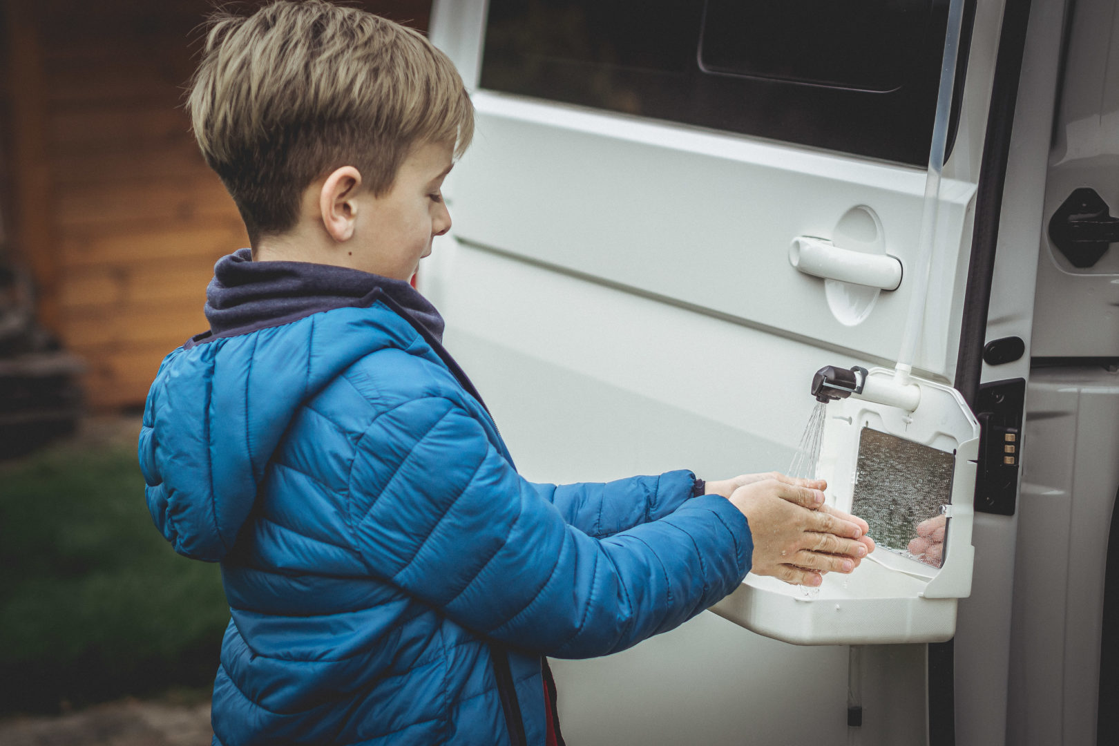 Camp Tap - Most mobile Tap & Sink for children